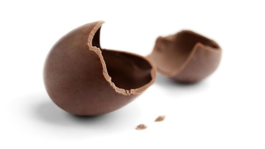 The Truth Inside The Chocolate Egg