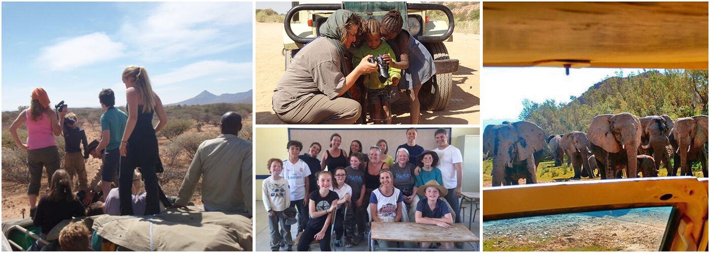 Family Volunteering in Namibia