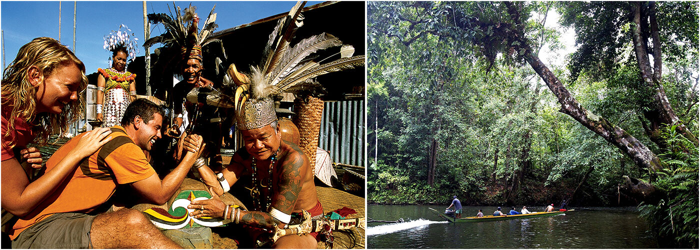 The Great Iban Longhouse Experience