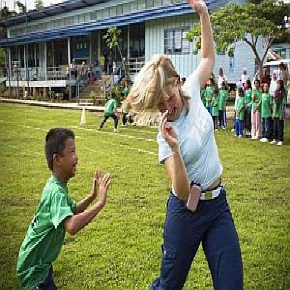 Work With The Local School Children