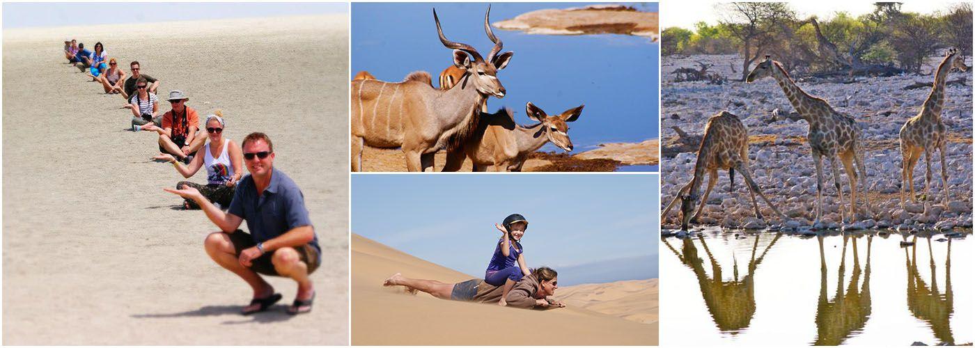 4 Day Etosha Safari and Swakopmund Adventure Tour