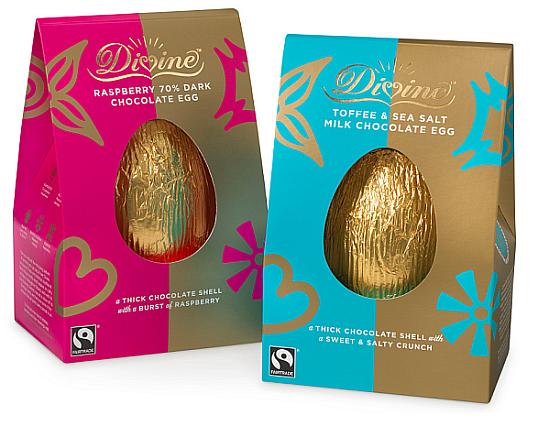 Divine Fairtrade Chocolate Easter Egg