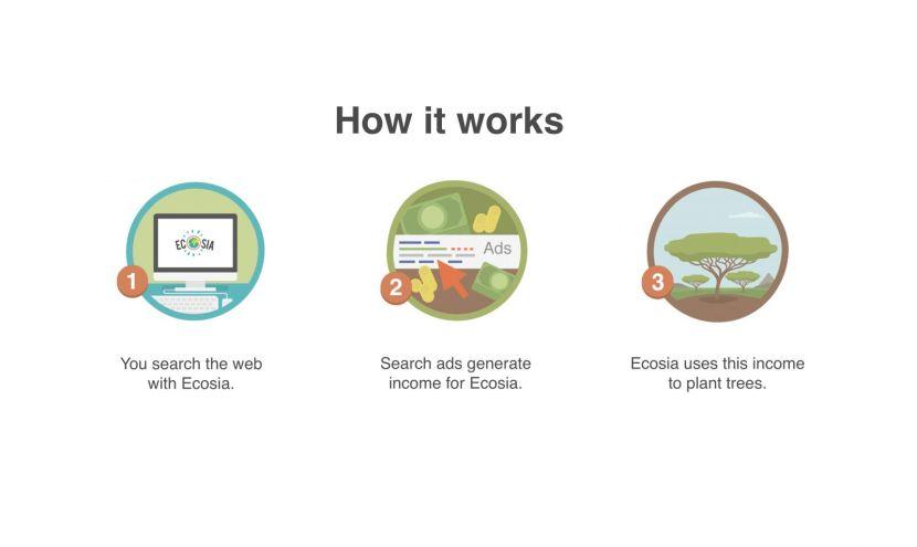 How Ecosia Plants Trees