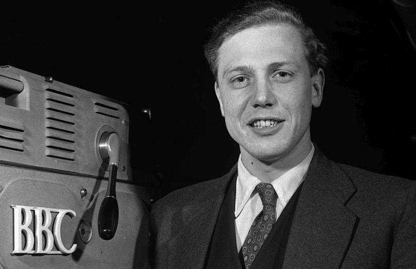 David Attenborough young at the BBC