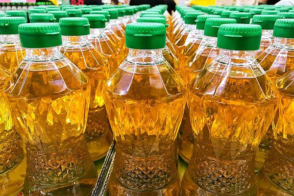 Palm Oil Bottled