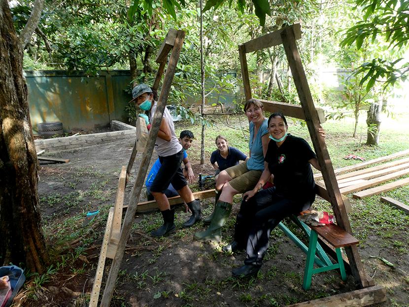 Constructing The Honey Dipper