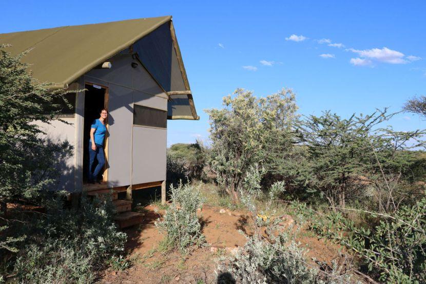 Accommodation at the Namibia Wildlife Sanctuary