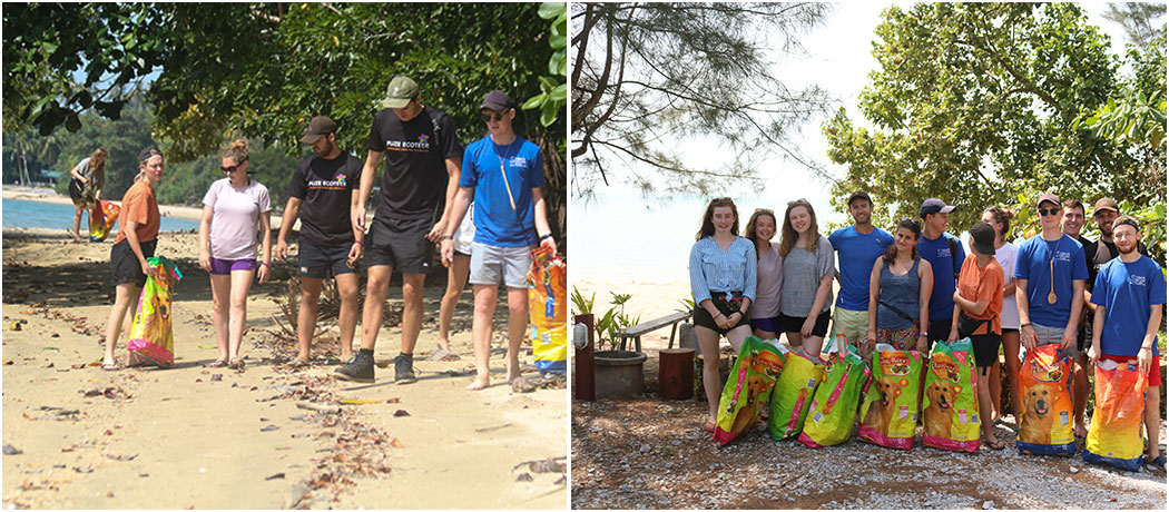 Beach Clean Up Volunteers The Great Orangutan Project