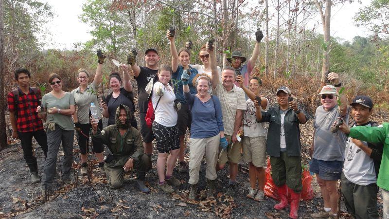 Volunteer at the Samboja Lestari Orangutan Sanctuary