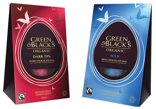 Green & Black's Fairtrade And Organic Chocolate Easter Eggs
