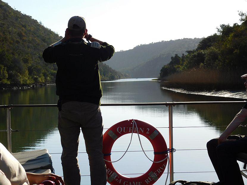 Boat Ride on Kariega River