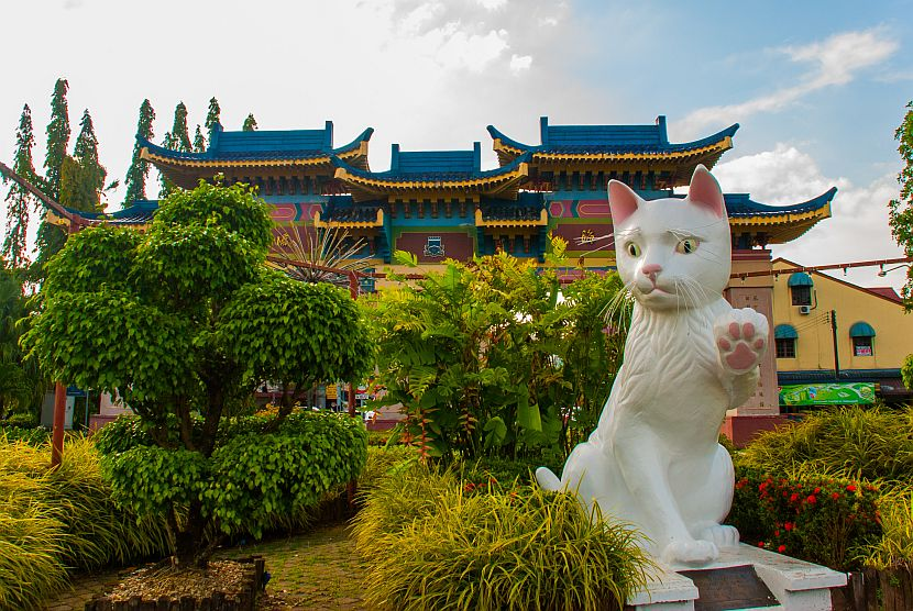 Giant cat Kuching