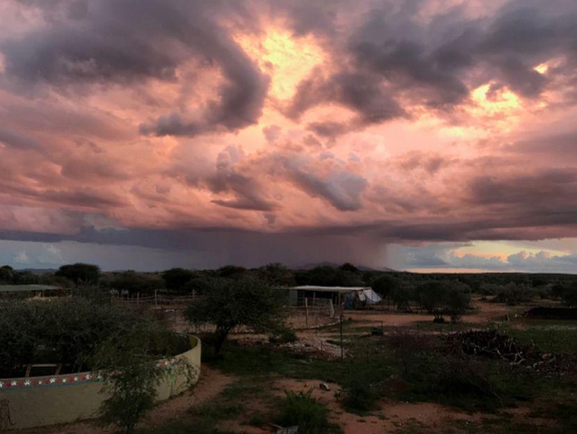 Amazing sky in Namibia