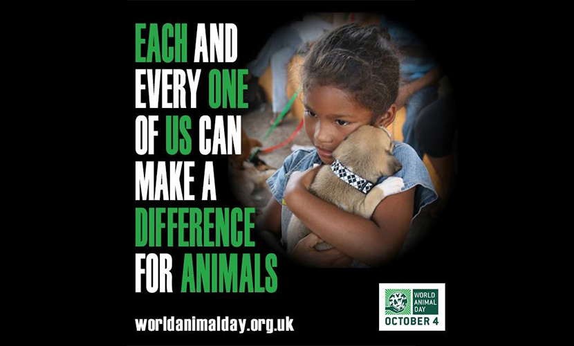 World Animal Day Banner